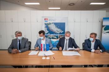 """Ubrzo počinje obnova zadarske rive, Škifić: """"Ovo je najljepši ugovor kojeg smo potpisali"""""""