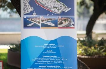 Najava početka radova na Liburnskoj obali
