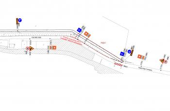 Obavijest o privremenoj regulaciji prometa za I. fazu radova na Liburnskoj obali